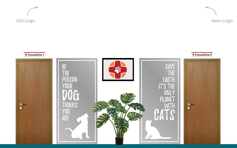 interior design of the veterinary clinic