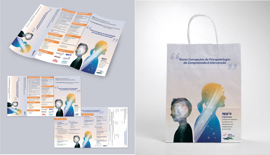 APPIA Conference folder and bag