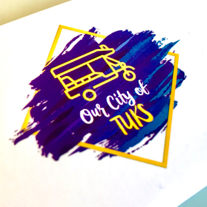 Our City of Tuks logo