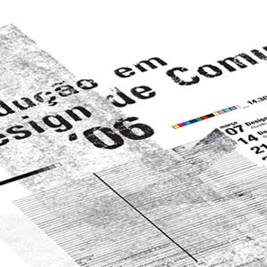 produção em design de comunicação 2006 logo