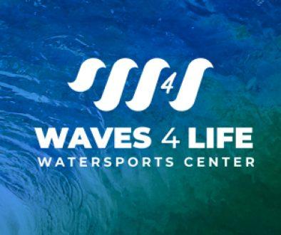 Waves4Life logo