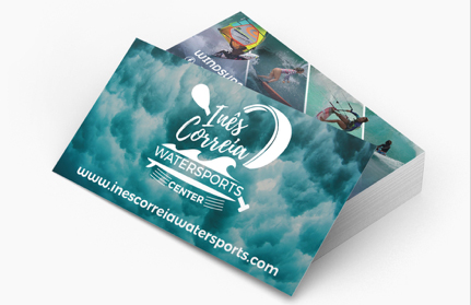 ines correia watersports center card