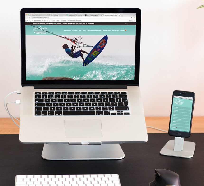 ines correia watersports center website