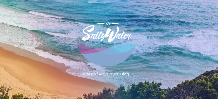 in salty water logo