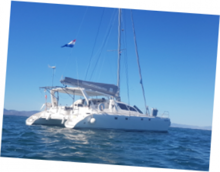 paradise kitecruise catamaran
