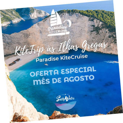 Kitetrip to Greece - Paradise Kitecruise