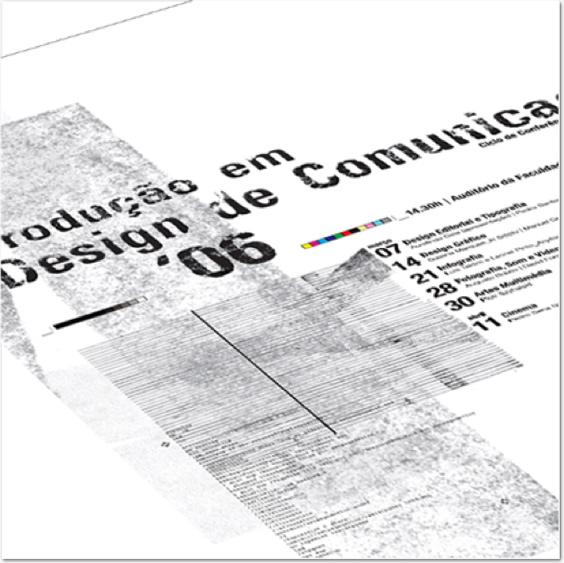 prodution in communication design poster