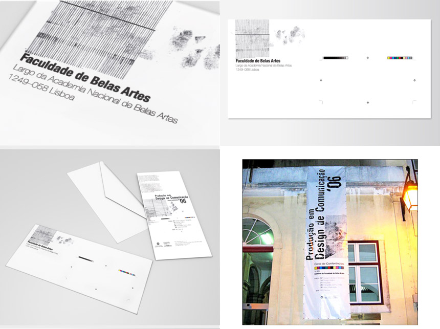 production in communication design poster