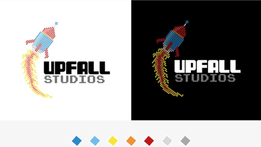 Up Fall Studio Logo