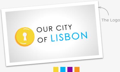 Our city of Lisbon Logo
