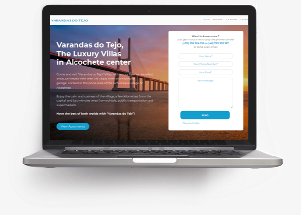 varandas do tejo website