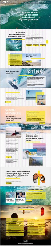 w4l websiteHomepage2019